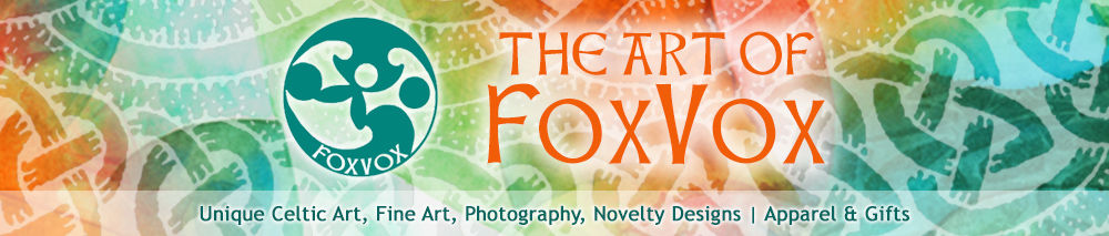 Art of FoxVox - Celtic & Eclectic T-shirts, Prints & Gifts