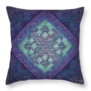 Celtic Avant Garde Throw Pillow